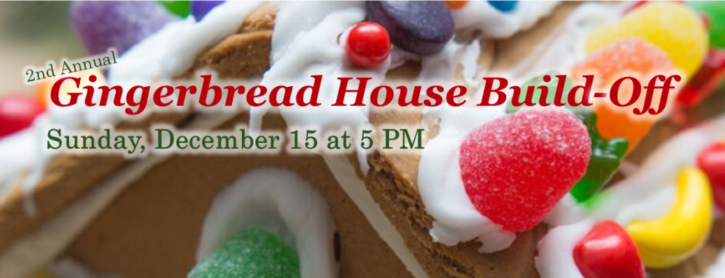 Gingerbread House Build-Off